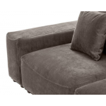 SOFA MONDIAL LOUNGE GRANITE GREY